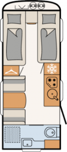 Çekme Karavan, Nomad - 490 EST