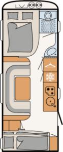 Nomad - 560 FMK Çekme Karavan