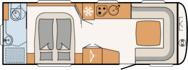 Nomad 650 RQT Çekme Karavan